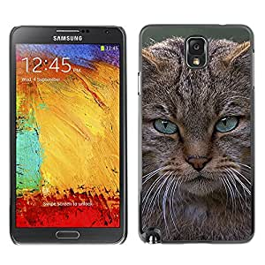 Vortex Accessory Carcasa Protectora Para Samsung Note 3 N9000 N9002 N9005 - Angry Cat Maine Coon Pissed -