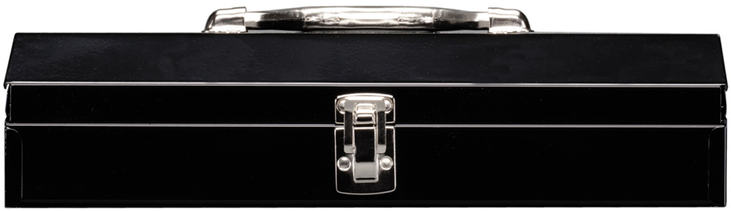 Stack-On SHB-15 15-Inch Household/Project Steel Tool Box, Black