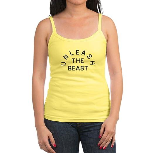 3044bcbb3d349 Amazon.com  CafePress Unleash The Beast Jr. Tank Top  Clothing