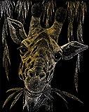 Royal and Langnickel Gold Engraving Art, Giraffe
