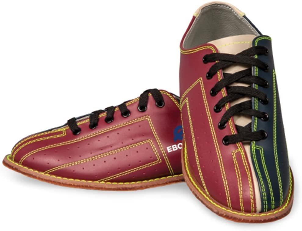 Red//Black Ebonite Bowling Shoes Unisex Illuminator Rental Shoes