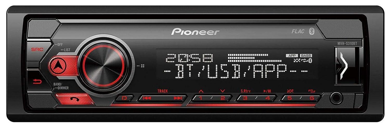 caraudio24 Pioneer MVH-S300BT MP3 Bluetooth AUX USB Autoradio f/ür VW Polo Lupo Fox Passat T5