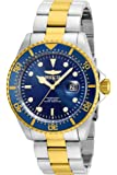 Invicta Men's Pro Diver Quartz Watch with Stainless-Steel Strap, Two Tone, 22 (Model: 22058)