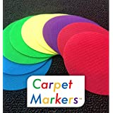 The Original CARPET MARKERS for Teachers (30 Pack of Circles)