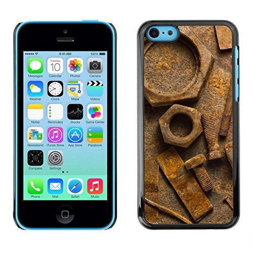 Premio Sottile Slim Cassa Custodia Case Cover Shell // V00002020 Rouille // Apple iPhone 5C