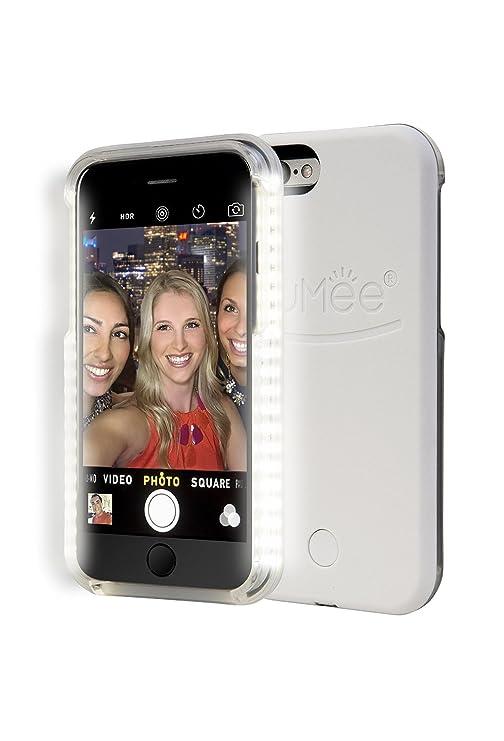 c63f877aa17 Amazon.com: LuMee Original Light Up Case for iPhone 6 - White: Cell Phones  & Accessories