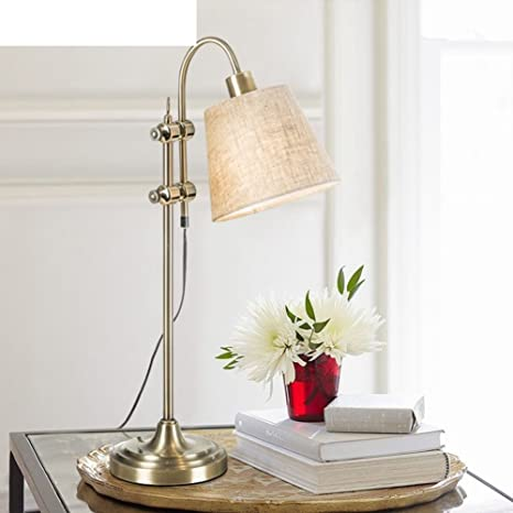 Amazon.com: JIEJING - Lámpara de mesa, estilo americano ...