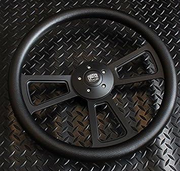 Black Luxury 5-Hole Hub Kit Kenworth//Peterbilt//Mack//Volvo//Western Star
