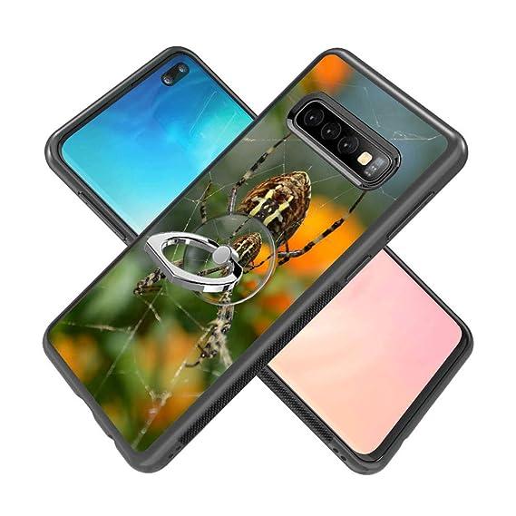 Amazon com: Spider Thread Samsung Galaxy S10 Case with Ring Holder