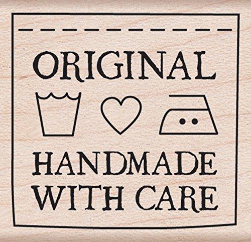 UPC 085700868419, Hero Arts Woodblock Stamp, Handmade with Care
