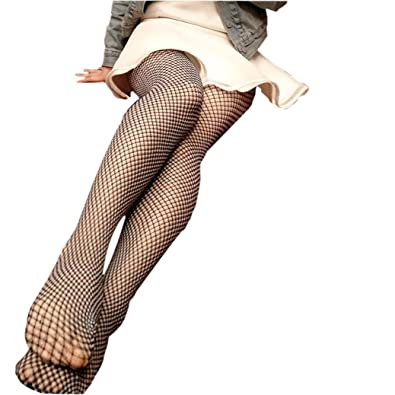 Women Fishnet Socks Inkach Stylish Girls Ruffle Fishnet Over Knee High Mesh Lace Fish Net Socks
