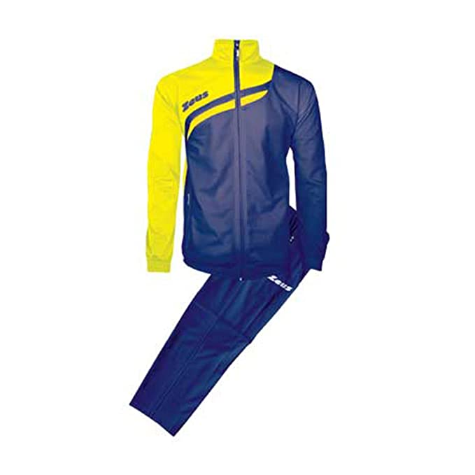 2 opinioni per Tuta Amilkare Nero-Rosso Zeus Corsa Sport Uomo Staff Running jogging Allenamento