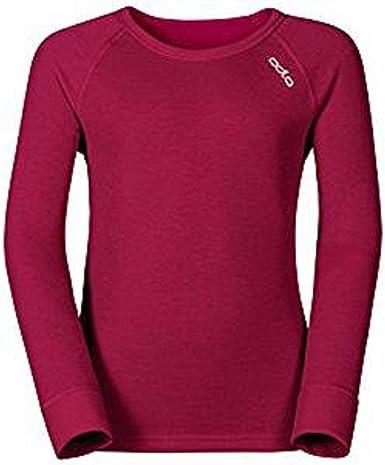 Odlo - Camiseta térmica - para niño Violet Pink 80 cm: Amazon.es: Ropa y accesorios