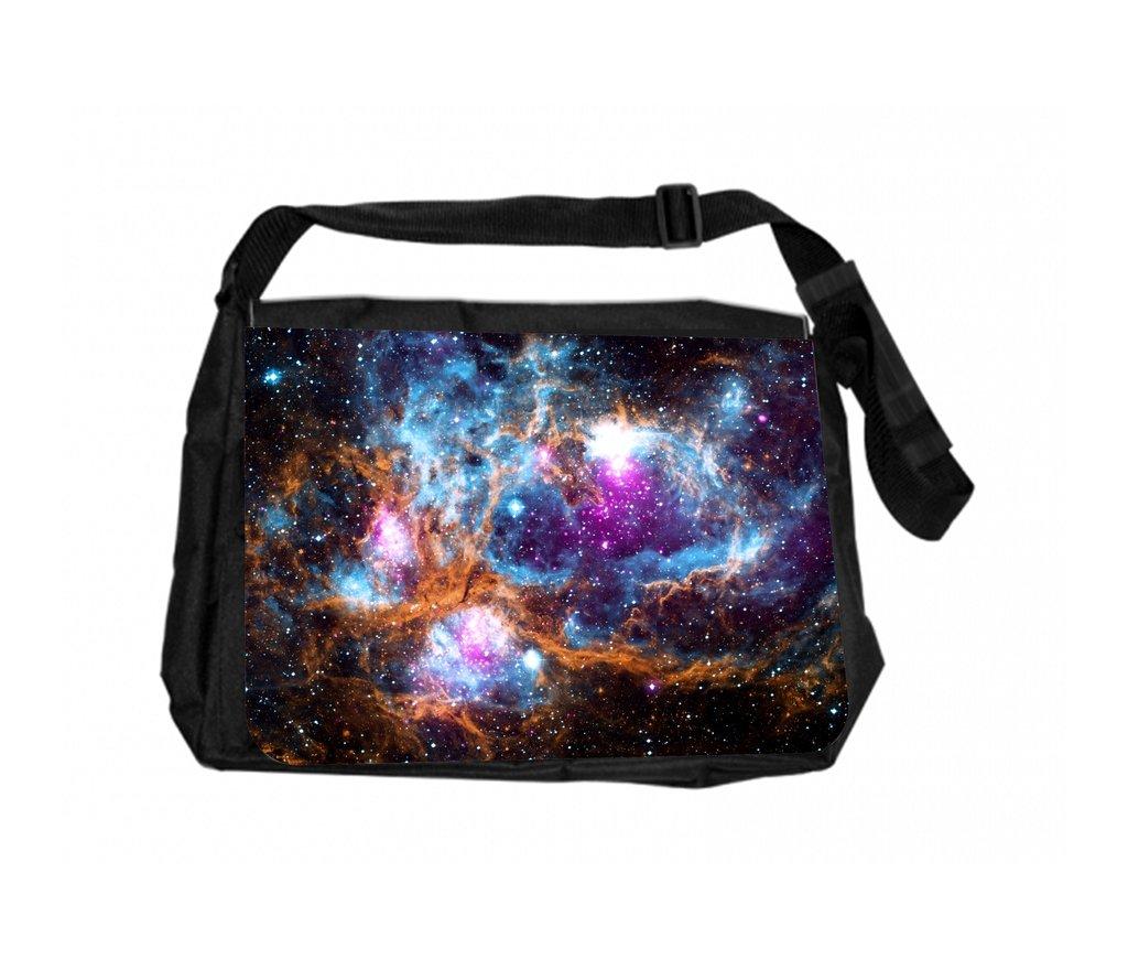 Amazon.com: Jacks Outlet Messenger Bag, Galaxy Nebula ...