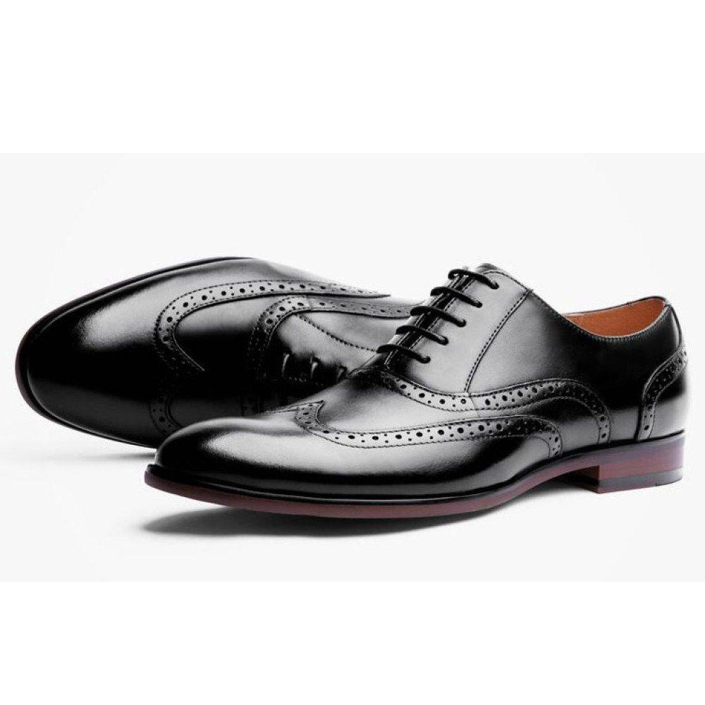 ... Herren Schuhe Lederschuhe Oxford Brogue Business Schnürschuh Schuhe  Herren Casual Hochzeit Spitz schwarz 4c738b 1afaf7003c
