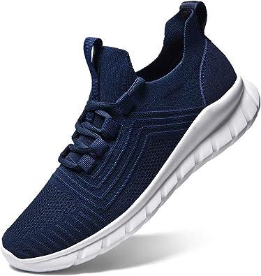 LK LEKUNI Zapatillas Running Hombre Mujer Zapatos Deporte para Correr Trail Fitness Sneakers Ligero Transpirable: Amazon.es: Zapatos y complementos