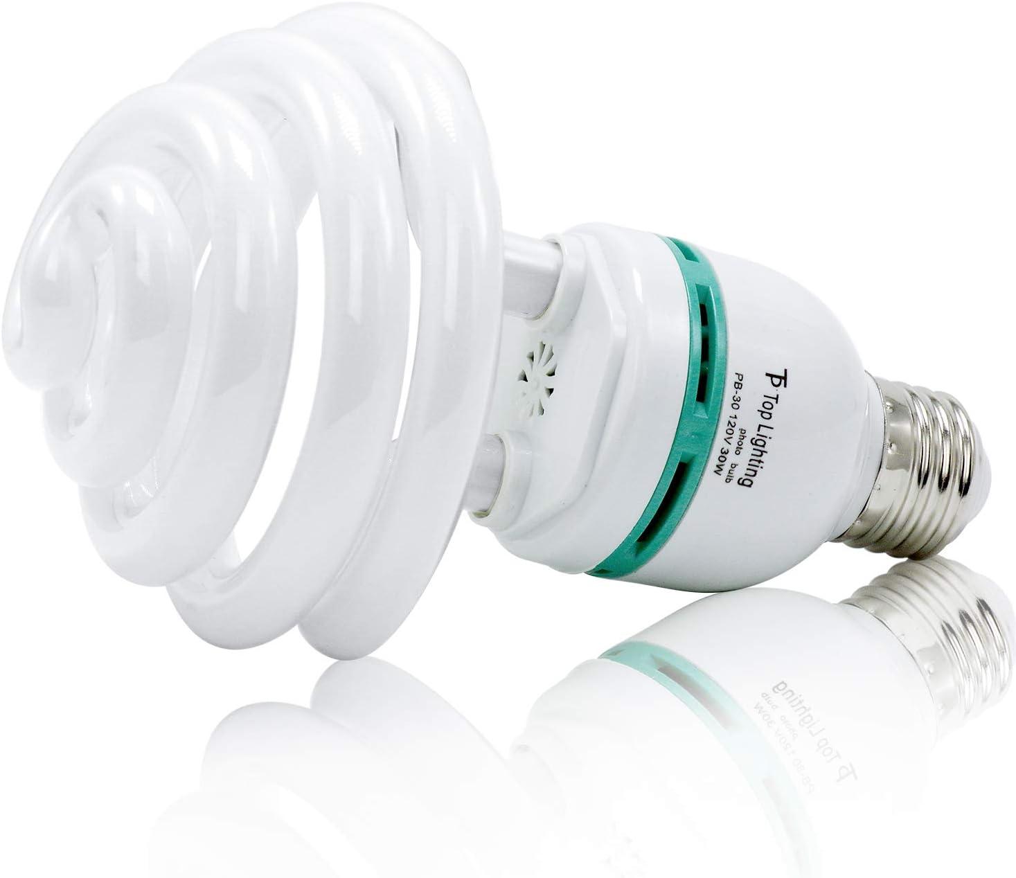 LimoStudio 30 Watt Compact Fluorescent Photography Photo CFL Lighting Light Bulb 5400K AGG1757