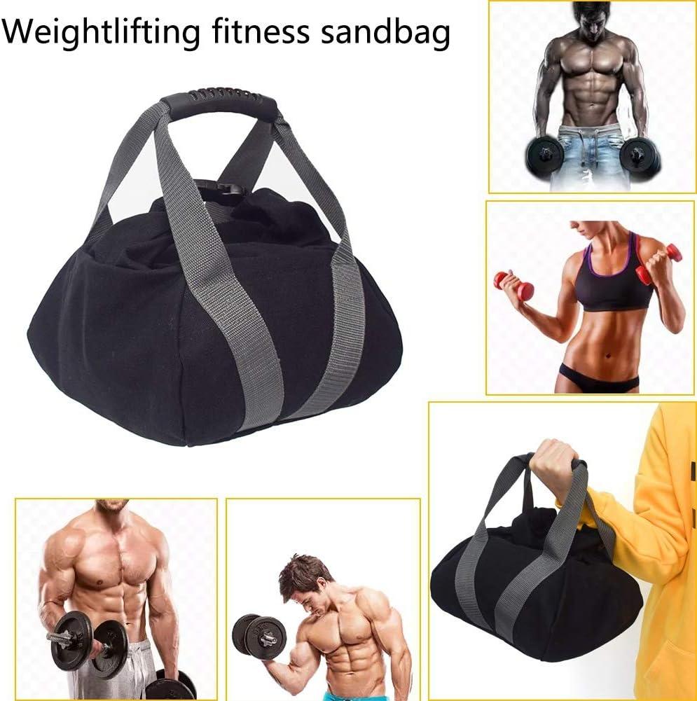 Ardorlove Adjustable Kettlebell Sandbag Portable Sand Kettlebell Soft Sand Bag Weightlift Dumbbell