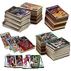 600 Basketball Cards Including Rookies, Many Stars, & Hall-of-famers. Ships in New White Box Perfect for Gift Giving. Includes Unopened Pack of Vintage Basketball Cards That Is At Least 25 Years Old!