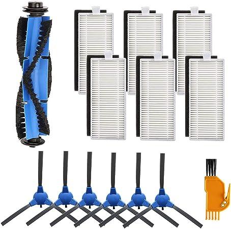 YanBan - Juego de 14 filtros de aspiradora compatibles con Eufy Robovac 11S 30 30 C 15 C 12: Amazon.es: Hogar