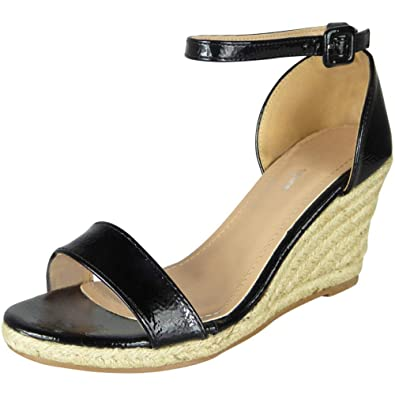 1df1f20c9f8 Loud Look Women Summer Espadrille | Ankle Strap Sandals | Ladies Summer  Shoes | High Heel Sandals | Women Espadrilles Wedge | High Wedge Sandals  for ...