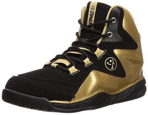 Zumba Zapatillas de Entrenamiento de Baile Superior de Boom de energía con Soporte Mejorado para Mayor
