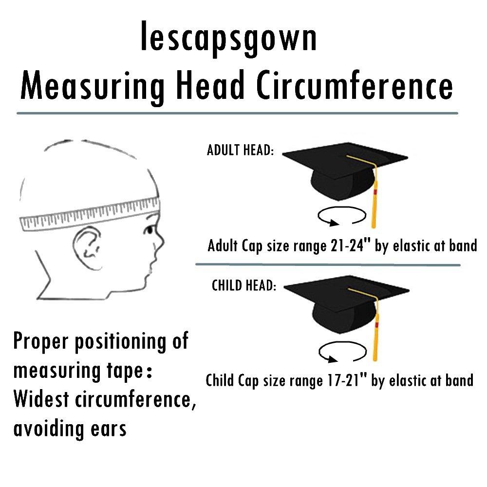 c1698f676c0 lescapsgown Unisex Adult Graduation Cap Tassel 2018 Year Charm-Matte Royal  Blue - CACP16NHM10   Clothing   Clothing
