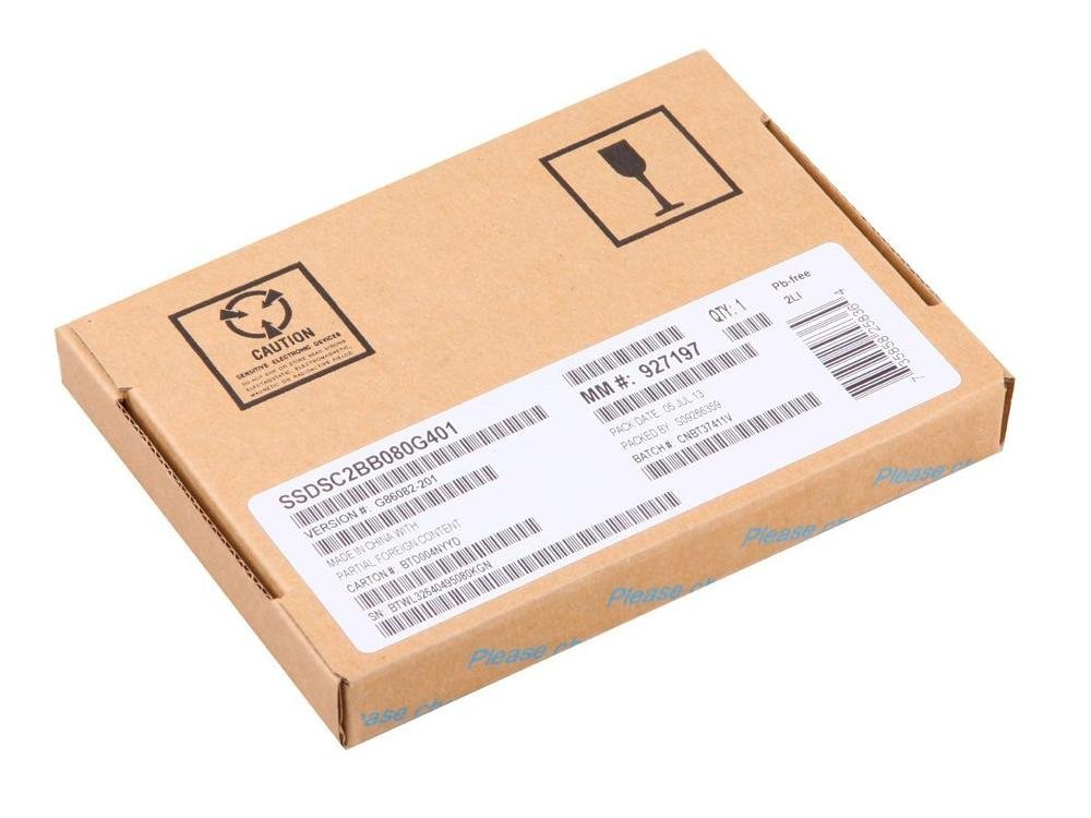SSD 80GB SATA Intel SC2BB080G401 DC S3500 Series 80GB 2.5in