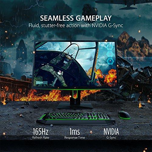 اسعار ViewSonic XG2760 27 Inch 1440P 165Hz 1ms Gsync Gaming Monitor with Eye Care Advanced Ergonomics HDMI and DP for Esports