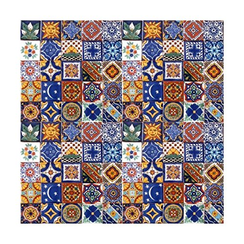 (100 Hand Painted Talavera Mexican Tiles 2