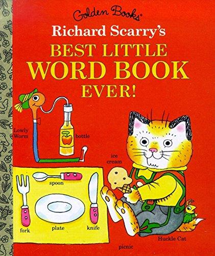 Richard Scarry's Best Little Word Book Ever (Little Golden Book) from Golden Books