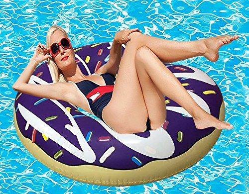 RiffSpheres Gigantic Donut Pool Float Toys & Raft - Great Christmas Gifts Idea