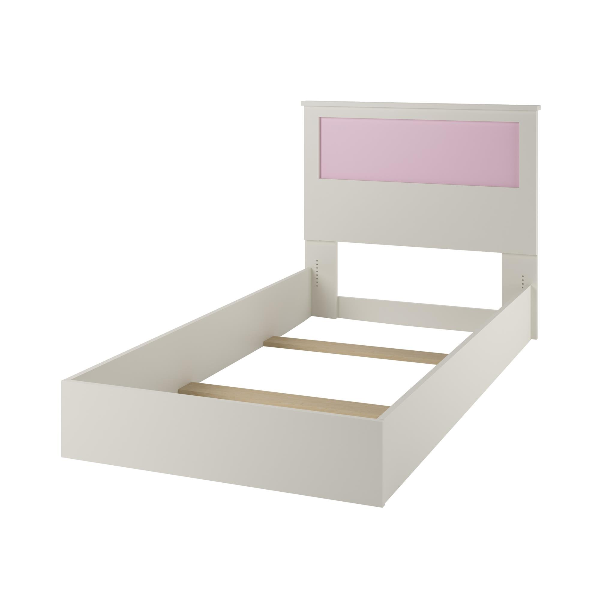 Ameriwood Home Skyler Twin Bed with Reversible Headboard, White by Cosco