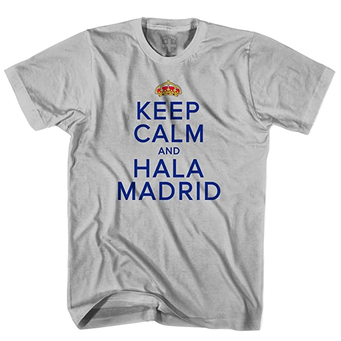 Amazon.com: Keep Calm & Hala Madrid – Camiseta: Clothing