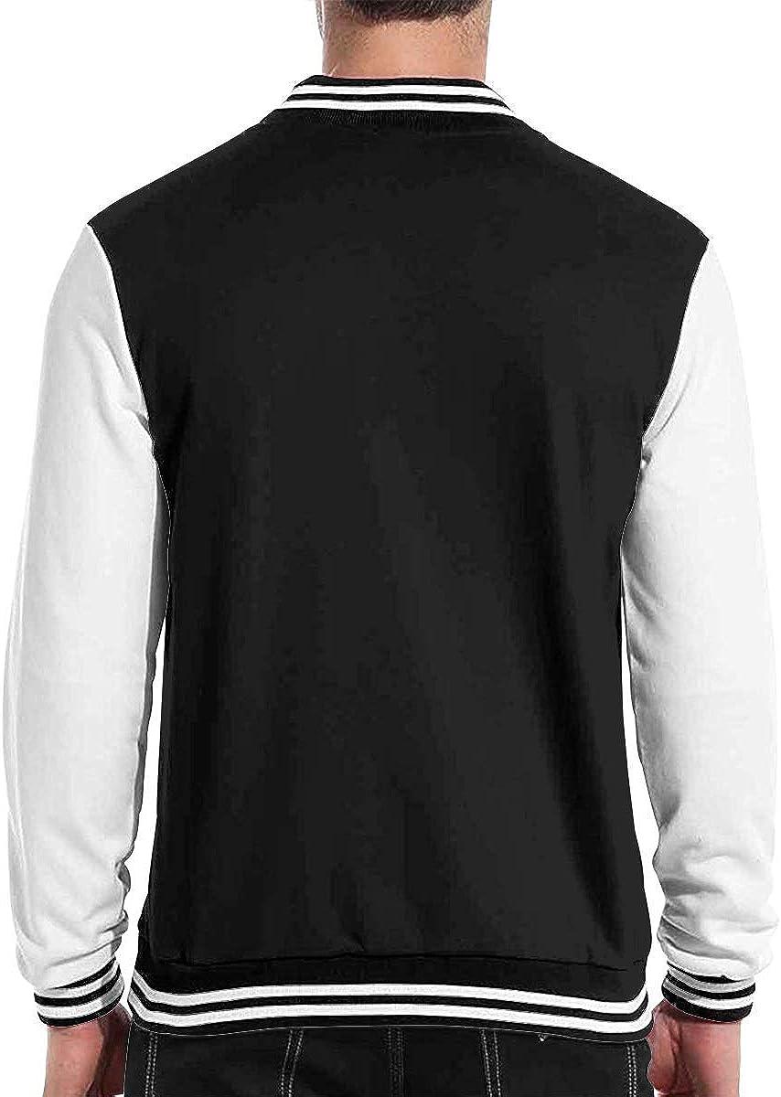 Men Women Varsity Premium Jacket Sweater Coat Black VIERIY Peter Tosh Logo Baseball Jacket Uniform