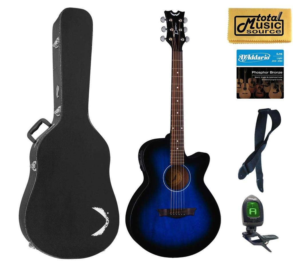 Dean Guitars AXcess Performer - Guitarra acústica/eléctrica, mAh ...