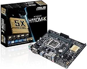 Asus Micro ATX DDR4 LGA 1151 Motherboards H110M-K