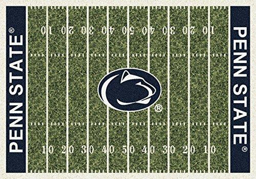 Milliken 4000054651 Penn State College Home Field Area Rug, 3'10'' x 5'4''