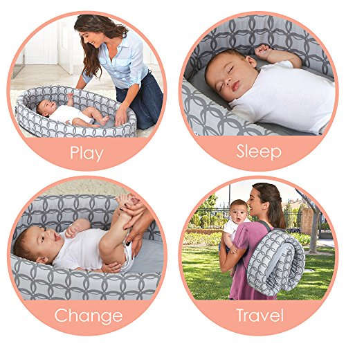 Image of the Lulyboo Bassinet To Go Classic