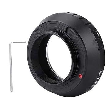 Montaje del objetivo Lente de la cámara Anillo adaptador de la ...
