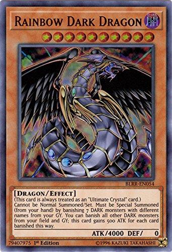 Rainbow Dark Dragon - BLRR-EN054 - Ultra Rare - 1st Edition