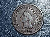1893 U.S. Indian Head Cent / Penny G/VG
