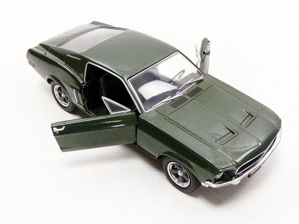 Greenlight - (1:24 Scale Bullitt (1968) - 1968 Ford Mustang GT Fastback - 84041 by Greenlight (Image #5)