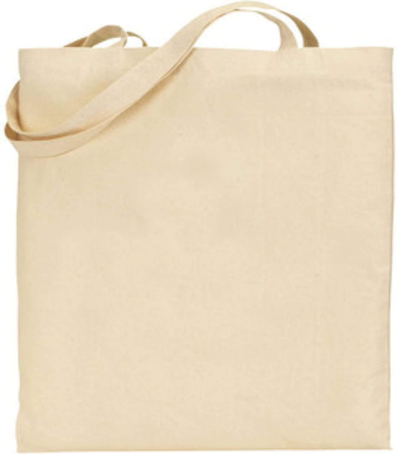 Natural Cotton Tote Bag 145gsm Euro Brand - Plain Ideal Print ...