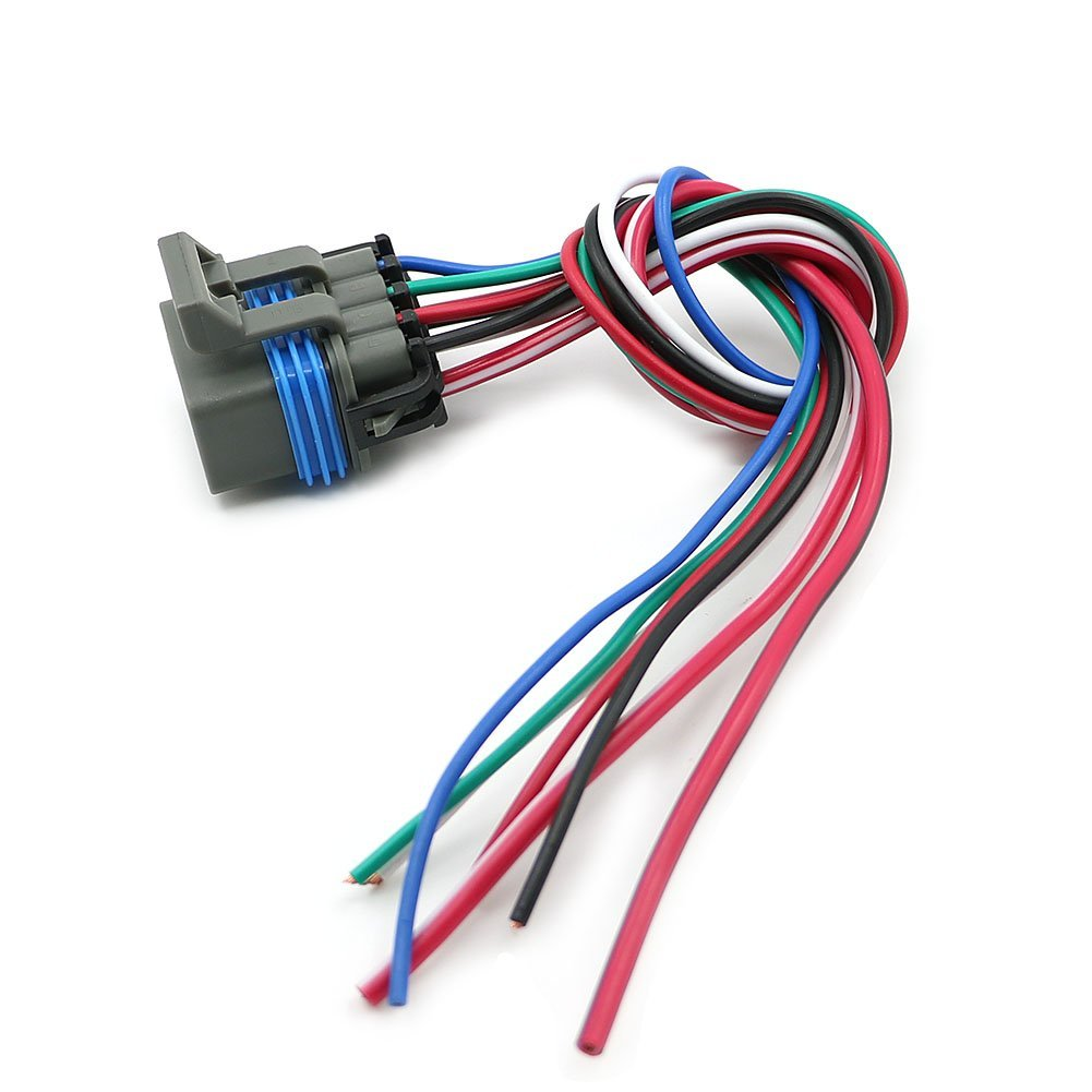 Motoparty 4L60E 4L80E Neutral Safety Switch Connector Pigtail,7 Wire on