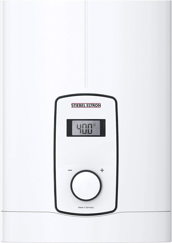 gradgenaue Wunschtemperatur 18 kW 236744 druckfest STIEBEL ELTRON elektronisch geregelter Durchlauferhitzer DHB-E 18 LCD 25A LC-Display