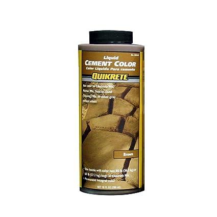 Quikrete 1317-01 Liquid Cement Color, 10oz, Brown - Quicrete Brown ...