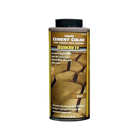 Quikrete 1317-01 Liquid Cement Color, 10oz, Brown