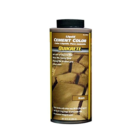 Quikrete 1317 01 Liquid Cement Color 10oz Brown Quicrete Brown