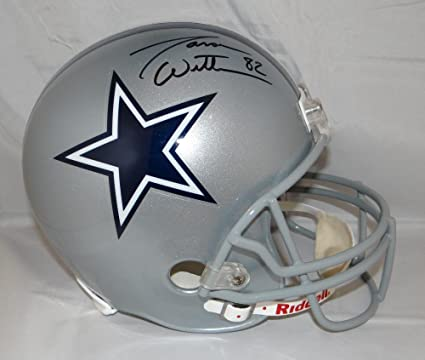 low priced 5316f 20c16 Amazon.com: Jason Witten Autographed Black F/S Silver Dallas ...